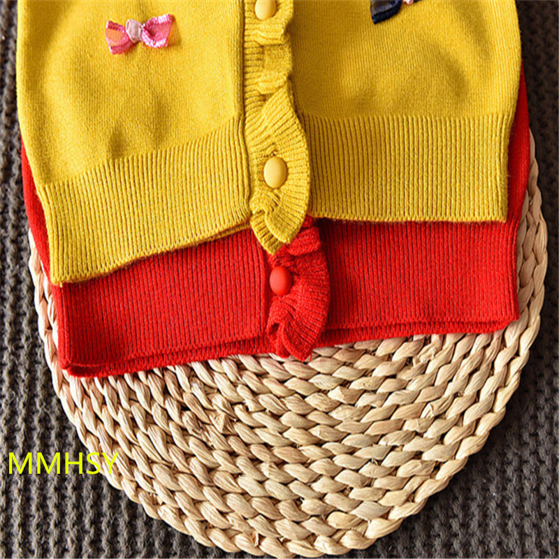 2017 meisjes mode trui gebreide trui herfst winter van kinder trui - Kinderkleding - Foto 6