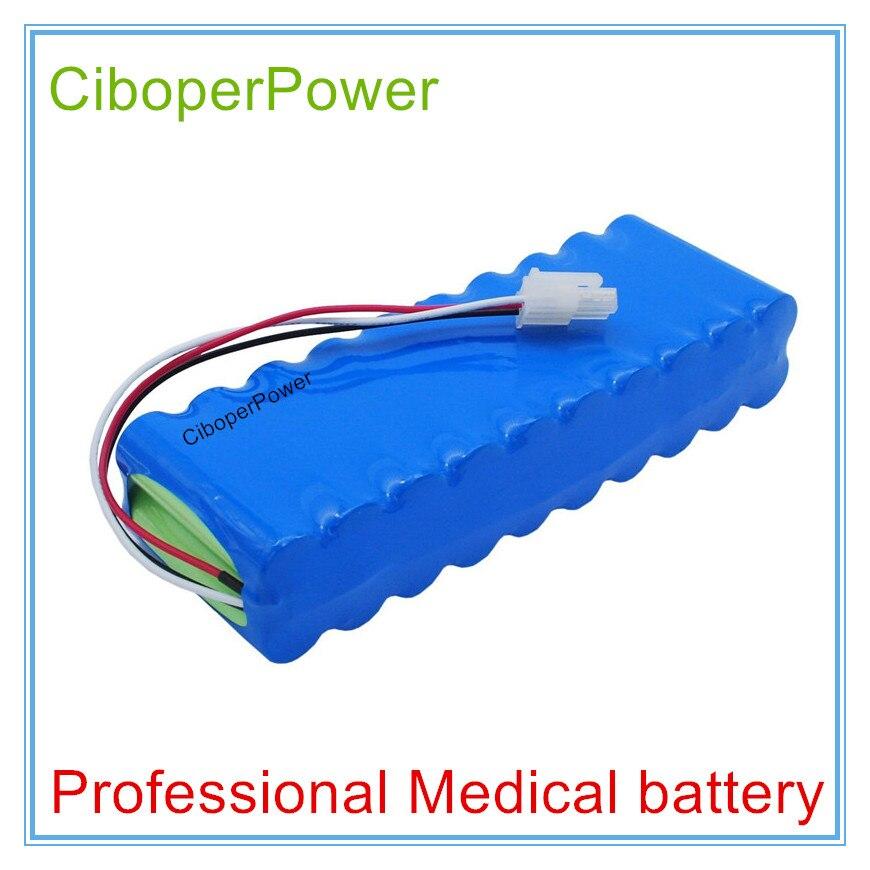 Batterie médicale de remplacement pour Batteries de remplacement 12 V 4000 mAh pour CardioTouch 3000 CardioCare