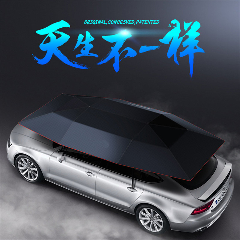 Best Deal Portable Semi-Automatic Car Umbrella Sunshade Roof Cover Tent UV Protection New Outdoor Tent For Car Fishging partol black car roof rack cross bars roof luggage carrier cargo boxes bike rack 45kg 100lbs for honda pilot 2013 2014 2015