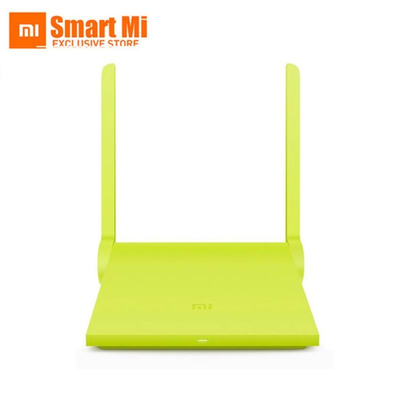 Inglese Versione Xiaomi Mini Mi WIFI Router 11AC Wi-Fi Roteador 2.4G/5G Repeater Universale 1167 Mbps USB porta di Controllo Intelligente