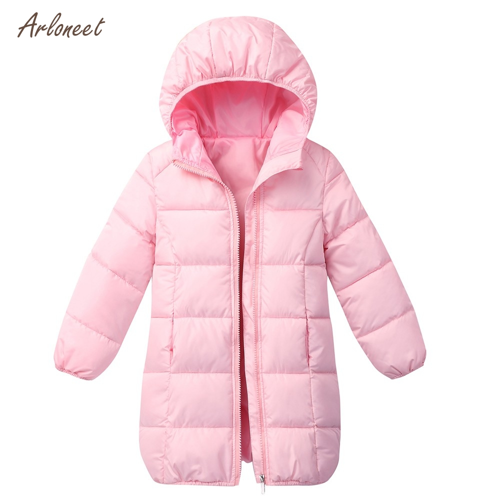 cdd2f2e1e Autumn Winter Girls Hooded Jacket