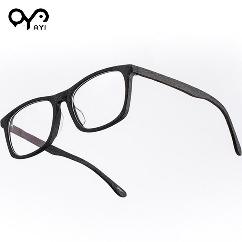 Frauen Marke Accetate Vintage Rahmen Designer 194521 black 194521 Myopie Ayi Brillen Mode Optische qwxEnYxHfX