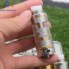 e-cigarette Giant v5S 23mm RTA 6ML Capacity 316ss adjustable bottom airflow Single coil Atomizer VS Giant V6S mtl rta pod vape цены онлайн