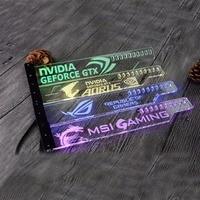 Acrylic Bracket Use For Brace GPU Card Size 280 45 6mm Use For Fix Video Card