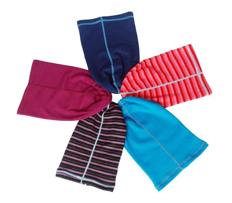 100% Merino wool kids beanies thermal unisex baby boys girls hats children bonnet outdoor skullies accessories 6months-14years