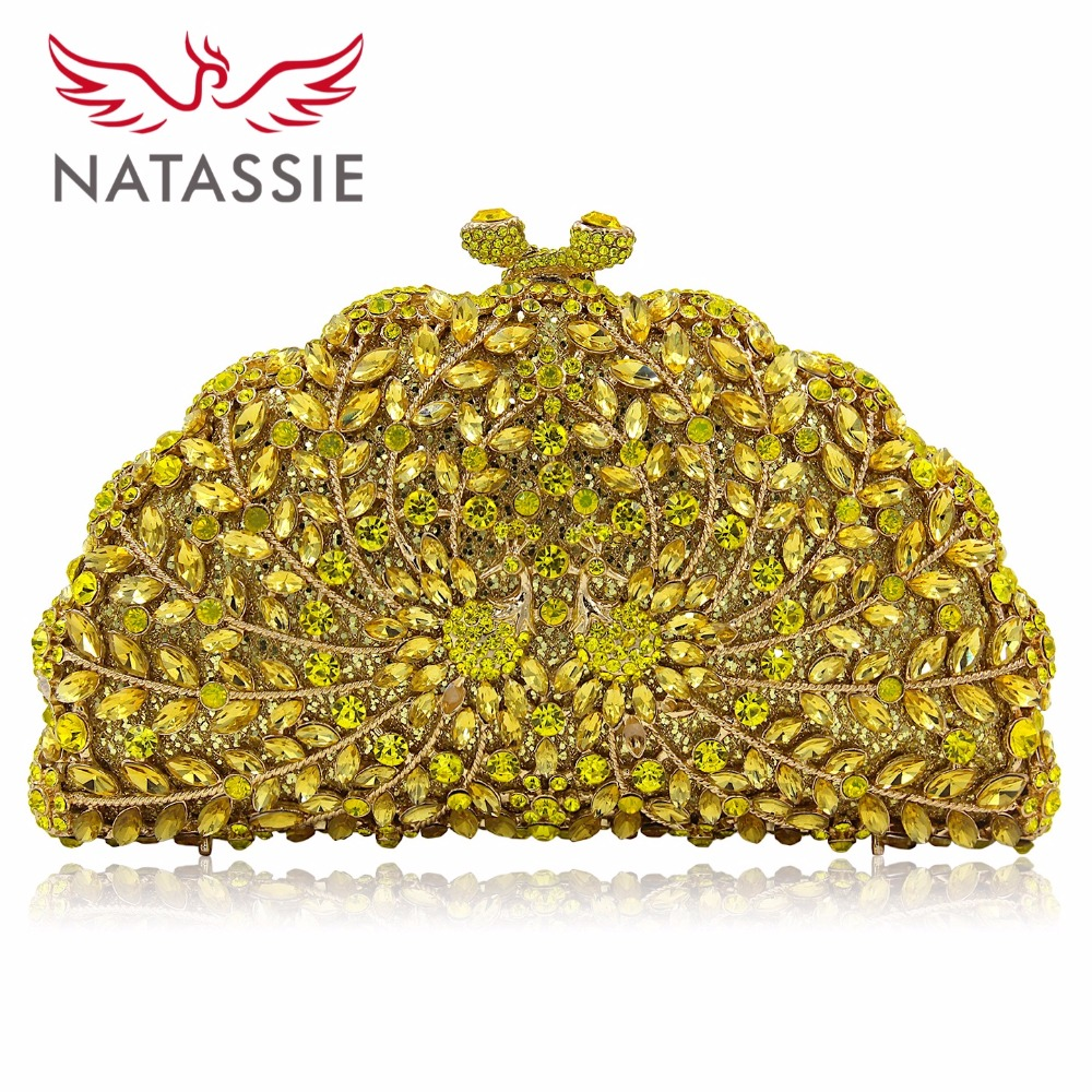NATASSIE Women Evening Bags Pair Peacock Shape Clutch Wedding Bag Female Party Clutches Purses colourful bird women evening luxury bags crystal clutches laides evening bag female party hard case bags wedding clutch purses