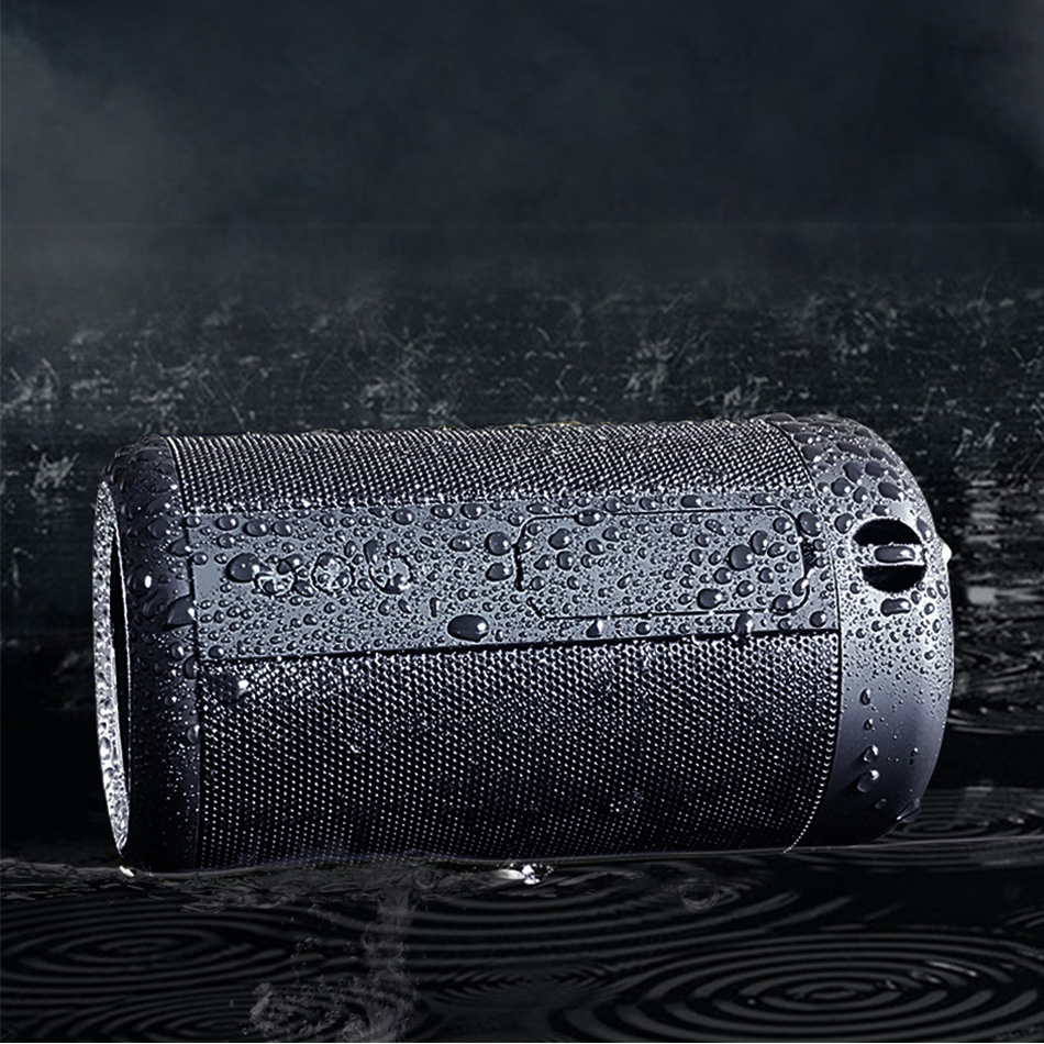 opruide hifi waterproof portable bluetooth speaker with 3d stereo music surround and aux for smartphone
