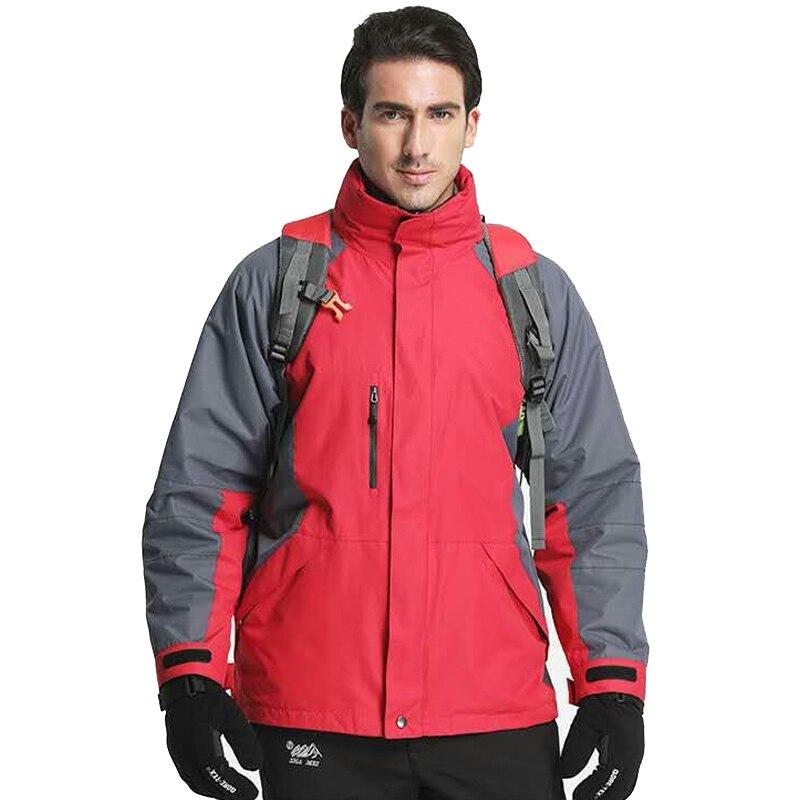 Extérieur imperméable veste hiver chasse coupe-vent Ski manteau randonnée pluie Camping pêche vêtements Sport vestes hommes manteau