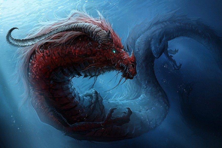 Fantasy sea monsters