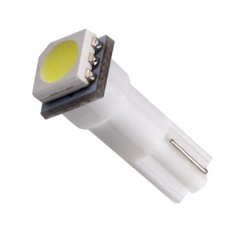 T5 74 White 1 SMD 5050 Dashboard Wedge LED Light Bulb Lamp led car bulbs interior Lights reading light parking bulbs 12V 1