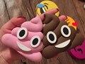 3000 mAh Banco de la Energía Diseño Divertido Caca Emoji Dibujos Animados Portátil Cargador de Batería Del Teléfono