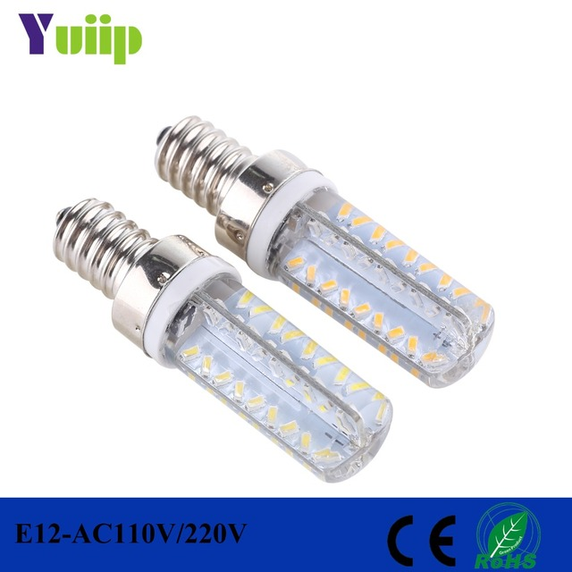 Yuiip e12 led light bulb 110v 3014 smd 360 beam angle lights replace yuiip e12 led light bulb 110v 3014 smd 360 beam angle lights replace halogen chandelier e12 mozeypictures Choice Image