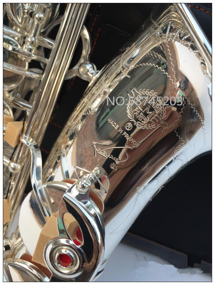 High quality Alto Saxophone Eb Silver plated Henri Saxophone alto saxophone Musical instrument professional performance free shipping new high quality tenor saxophone france r54 b flat black gold nickel professional musical instruments