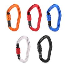 Professional Rock Climbing Carabiner 22KN Safety Buckle Hiking Survival Lock