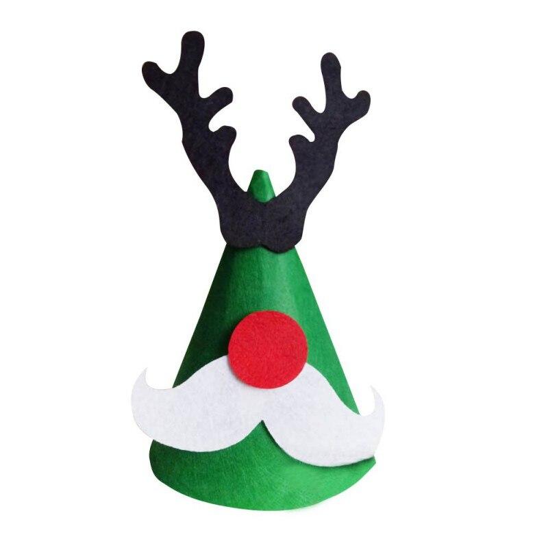 Model Building Kits Diy Baby Toys Creative Education Christmas Cap Party Decoration Handmade Favor Christmas Tree Reindeer Santa Claus Hat Kids Caps More Discounts Surprises