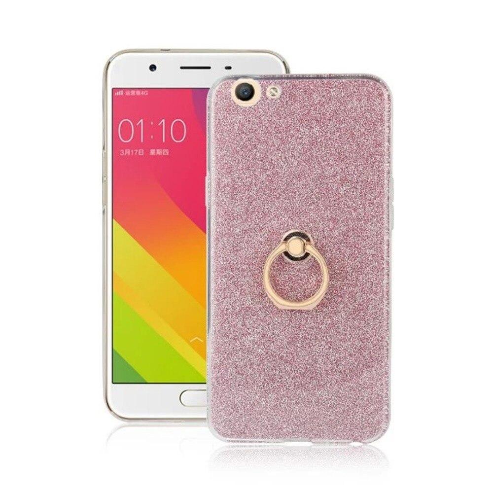 Ultrafino Soft TPU Gel Original Kickstand Finger Ring Cubierta del - Accesorios y repuestos para celulares - foto 3
