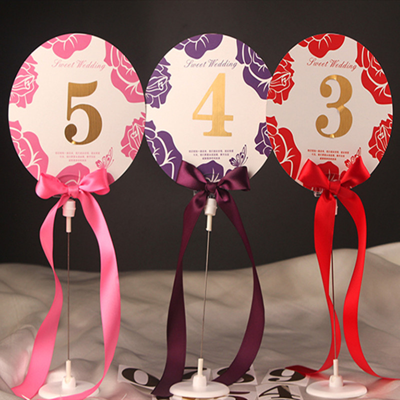 Place Holder Table Number Card Holder for Wedding Decoration Event Party Supplies Party Direction Signs 10pcs/lot