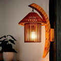 New!Southeast Asia Creative Bamboo Wall Lamp AC 90-260V Decoration For Living Room Bedroom Study Room Restaurant Coffee Shop Bar
