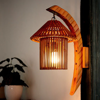 New!Southeast Asia Creative Bamboo Wall Lamp AC 90 260V Decoration For Living Room Bedroom Study Room Restaurant Coffee Shop Bar