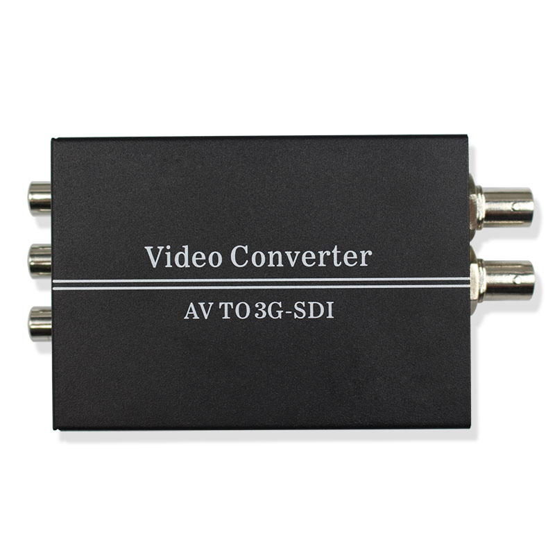 WIISTAR AV to SDI Video Converter Support Convert AV Signal to Two 3G/HD/SD-SDI Signal with DC 12V Power Supply