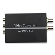 WIISTAR AV to SDI Video Converter Support Convert AV Signal to Two 3G/HD/SD-SDI Signal with DC 12V Power Supply