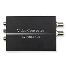 WIISTAR AV to SDI Video Converter Support Convert Signal Two 3G/HD-SDI with DC 12V Power Supply