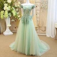 Line a אלגנטי תחרה מקיר לקיר התחרה עד ערב שמלה 2017 קריסטל ואגלי שמלת custom made gx10