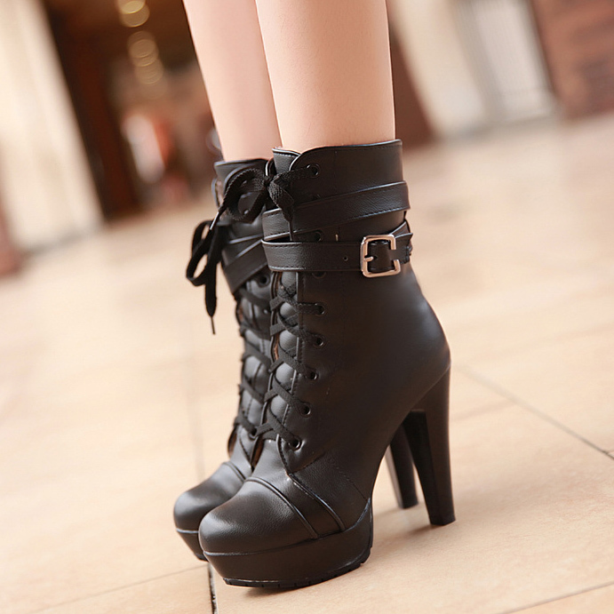 Find ankle boots short heels at ShopStyle. Shop the latest collection of ankle boots short heels from the most popular stores - all in one place.