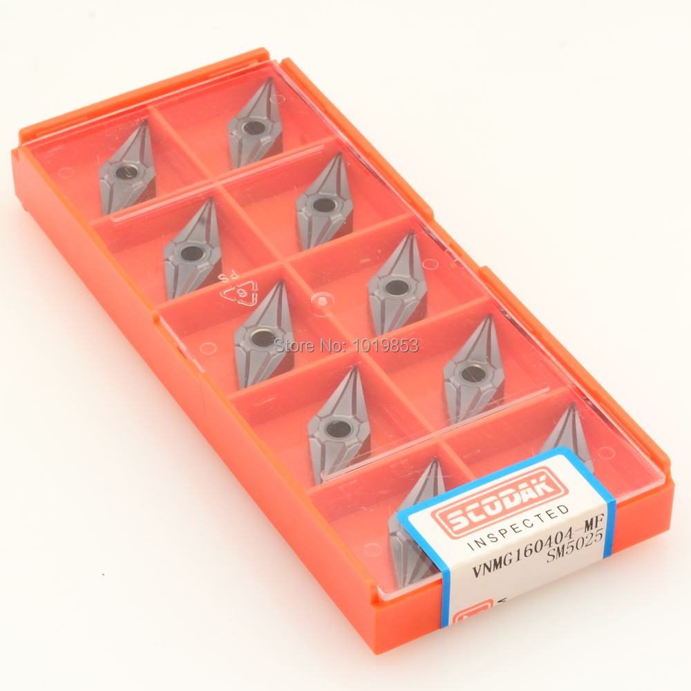 VNMG160404 SM5025 Turning carbide inserts for Lathe tool holder Stainless steel machining