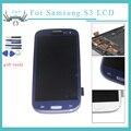 S3 i9300 Тест ЖК-ДИСПЛЕЙ Для samsung galaxy s3 i9300 экран сенсорный экран digitizer замена частей сборки + рамка главная кнопки