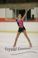 Hot Sales Custom Child Ice Skating Competition Dress Beautiful New Brand Vogue Figure Skating Dresses DR2816