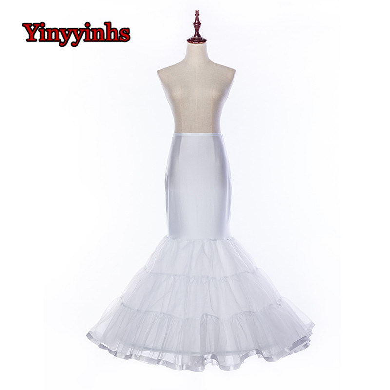 La Estrella De Mar Jupon Mariage New Tulle Sexy Mermaid Enaguas Para El Vestido De Boda Long Underskirt High Quality Petticoat Back To Search Resultsweddings & Events Wedding Accessories