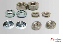 200pcs F-M5-1/F-M5-2 Self-clinching Flush Fasteners Nature Stainless Steel Nuts In Stock Factory Wholesales