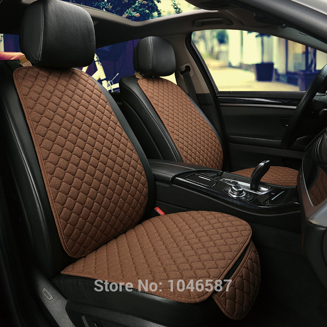 Car Front Seat Back Cushion Car seat cushions Seat Cover Protector Pad Mat for Auto Front Car Styling Car Decorate Protect