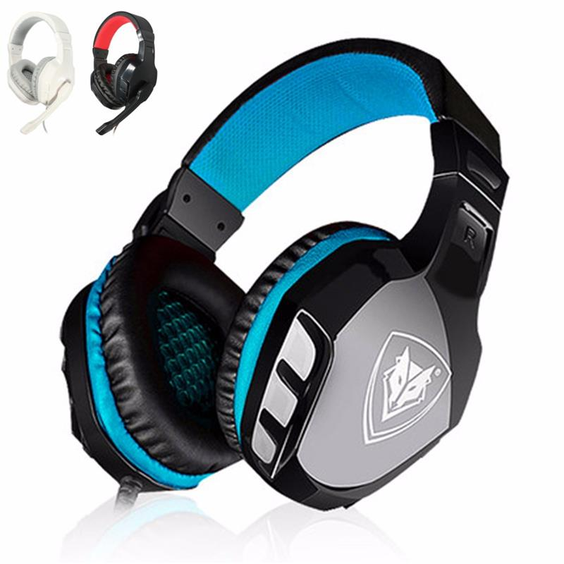 2017 New Arrive Universal Computer Laptop PC 3.5mm Stereo Gaming Headphones PC Gamer Headset Earphone With Microphone Mic each g8200 gaming headphone 7 1 surround usb vibration game headset headband earphone with mic led light for fone pc gamer ps4