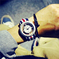 Relogio Feminino Skeleton Watch Women Delicate Transparent Hollow Nylon Strap Wrist Watch Quartz Dress Watches Orologio Uomo H67