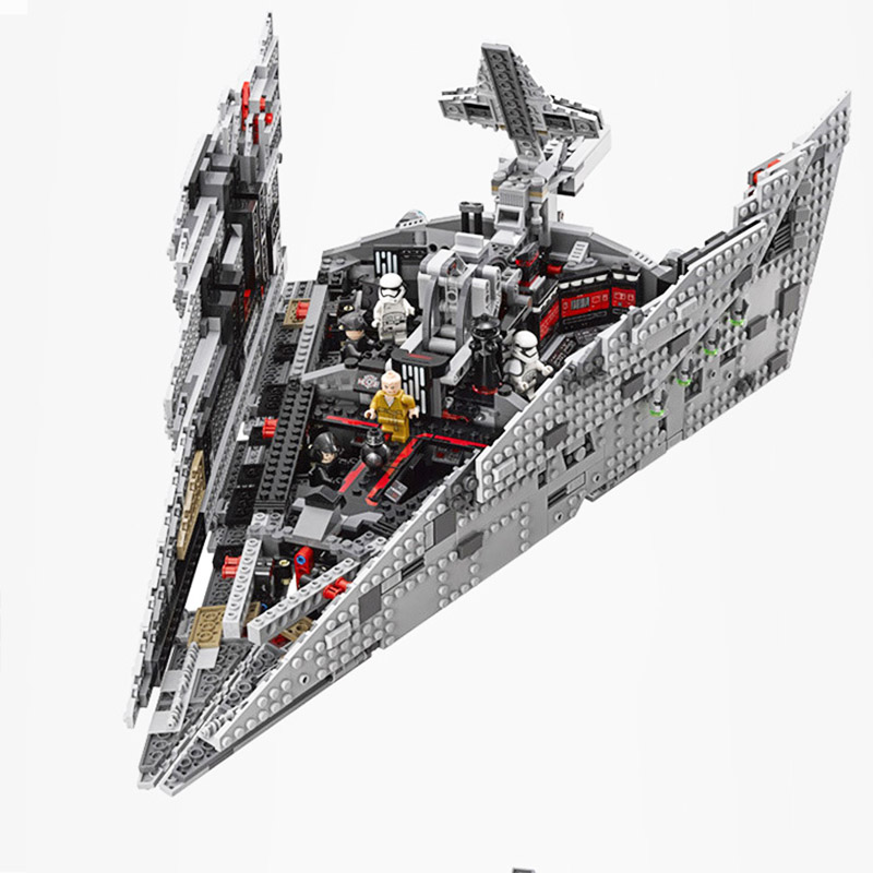 Bela 10901 First Order Star Destroyer Model Building Block Bricks Toys Compatible with Legoings Star Wars 75190Bela 10901 First Order Star Destroyer Model Building Block Bricks Toys Compatible with Legoings Star Wars 75190