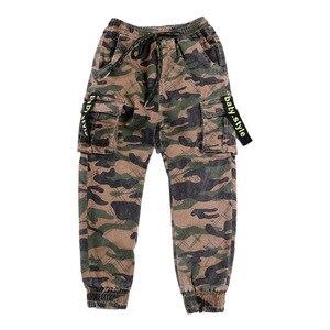 Image 4 - Chłopięce spodnie spodnie sportowe chłopięce spodnie kamuflażowe bawełniane 2020 wiosenne jesienne spodnie dla dzieci Boys Baby Casual spodnie 10 12 lat spodnie dla dzieci
