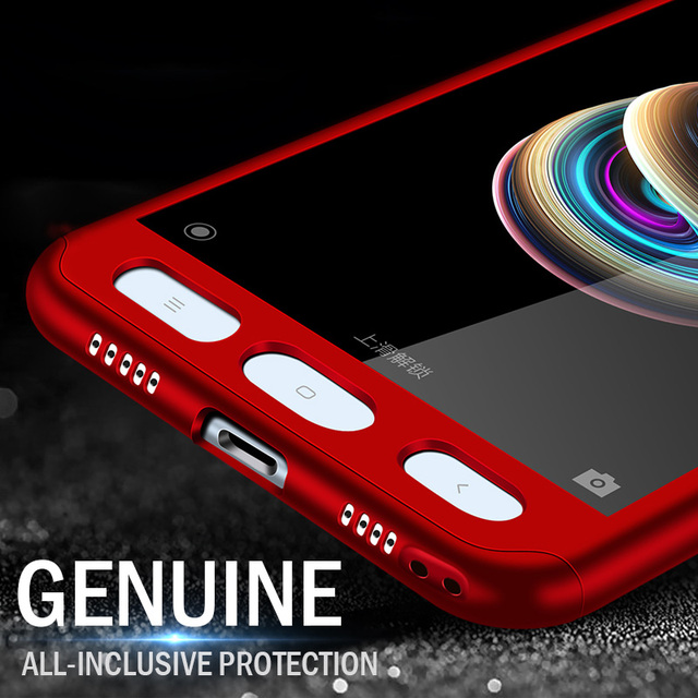 360 Degree Phone Cases For Xiaomi Redmi 4X 4A Note 5A Shockproof Full Cover Case For Xiaomi Redmi Note 5A 5 Plus 4A Phone Shell