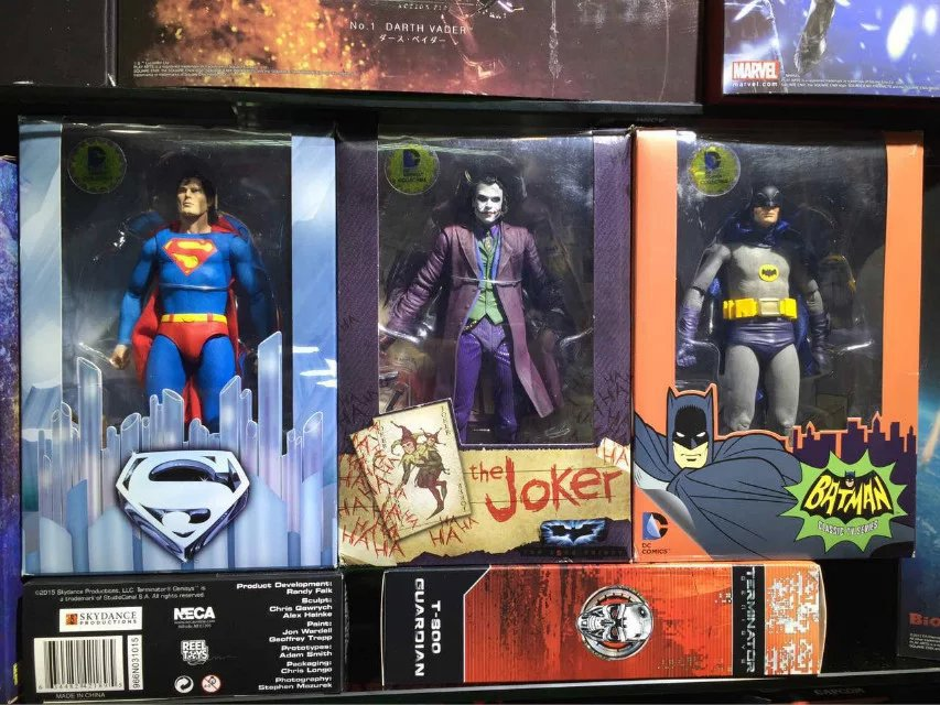 Superman Vs. Batman Action Figures 1/8 scale painted figure Joker Superman Dolls PVC ACGN figure Toys Brinquedos Anime 18CM greg pak batman superman volume 1 cross world