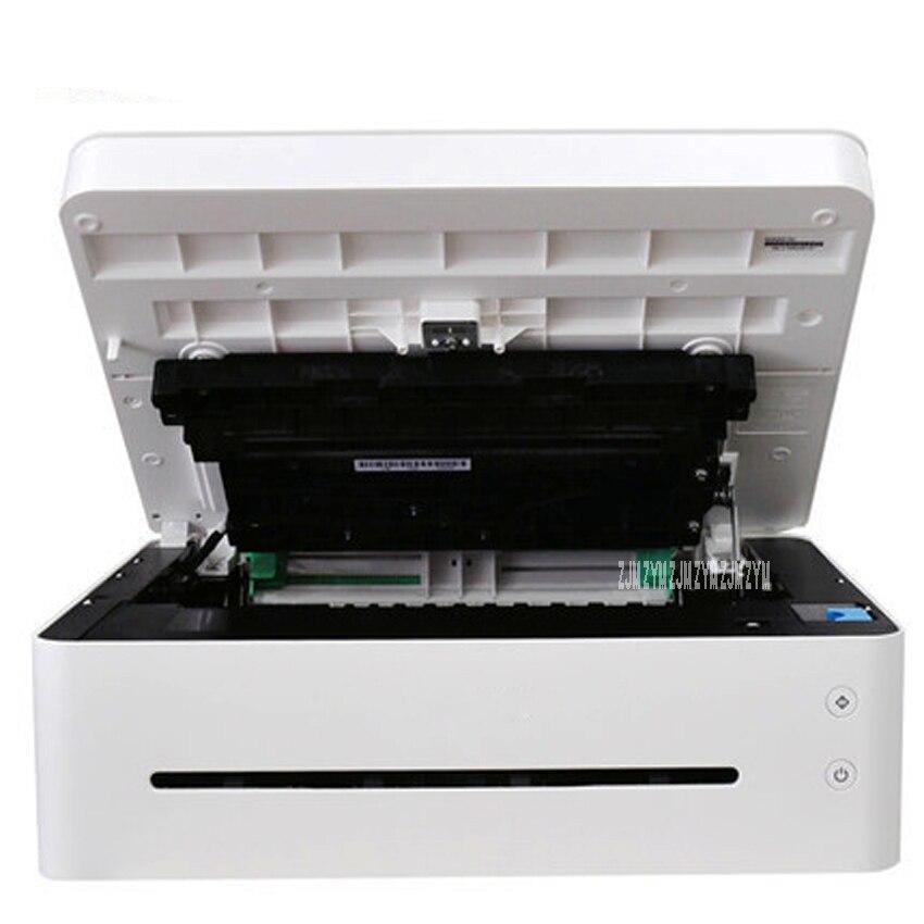 Черно белый лазерный принтер, одна машина, копировальная, беспроводная, Wi Fi, для дома, маленького офиса, скорость печати 22 страницы/минуты, 220 В, M7208W - 5