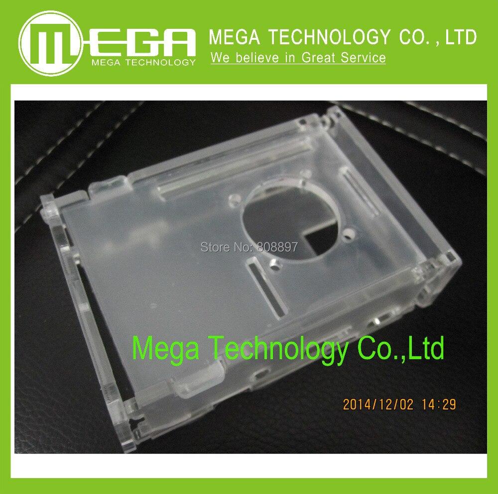 Transparent Acrylic Case Box Enclosure – for the Raspberry Pi 512M Model B Computer