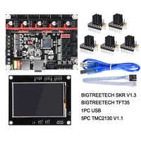 3d printer display MKS TFT35 V1 0 touch screen + MKS Slot2 module expansion  SD card reader 3 5 inch LCD panel 3 5'' TFT