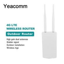 Yeacomm CPF905 ความเร็วสูง 4G LTE CPE Router กลางแจ้ง WIFI Wireless AP พร้อมซิมการ์ด