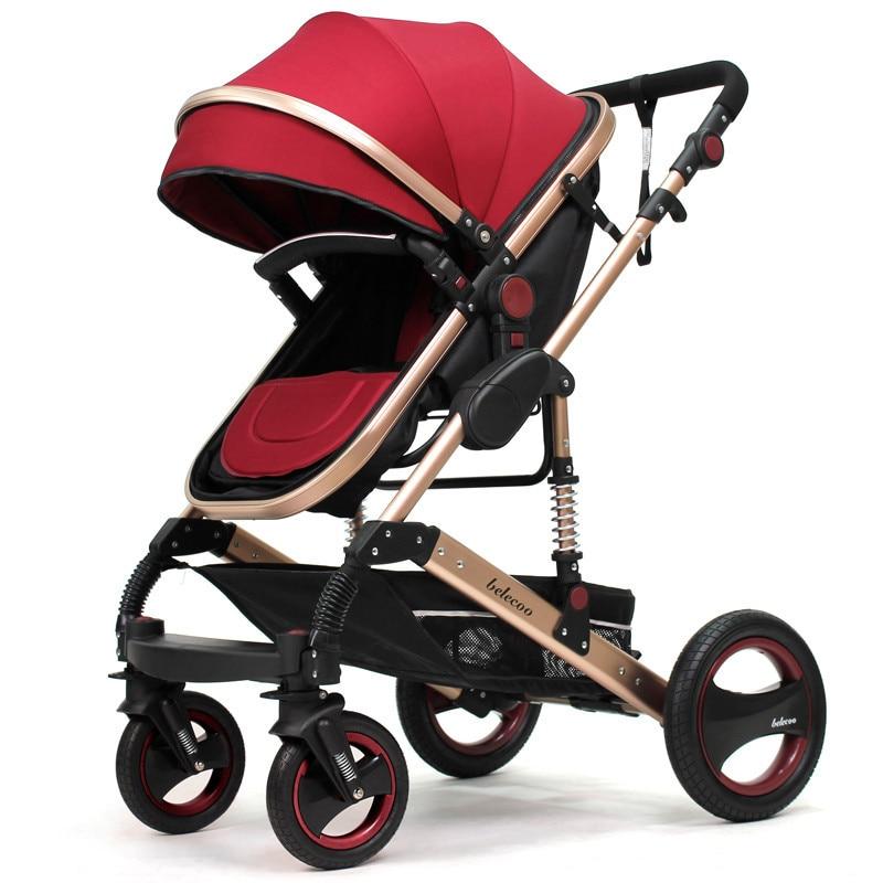belecoo Baby stroller can sit reclining folding light ...