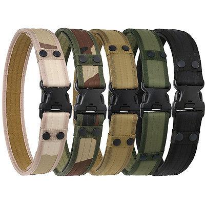 SWAT Military Equipment Knock Off Army Belt Men's Heavy Duty US Soldier Combat Tactical Belts Sturdy 100% Nylon  5cm