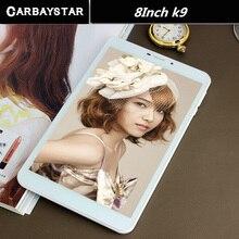 CARBAYSTAR 8 pulgadas Tablet Pc Octa Core K9 Android Tablet Pc 4G LTE teléfono móvil android tablet pc de $ number MEGAPÍXELES IPS
