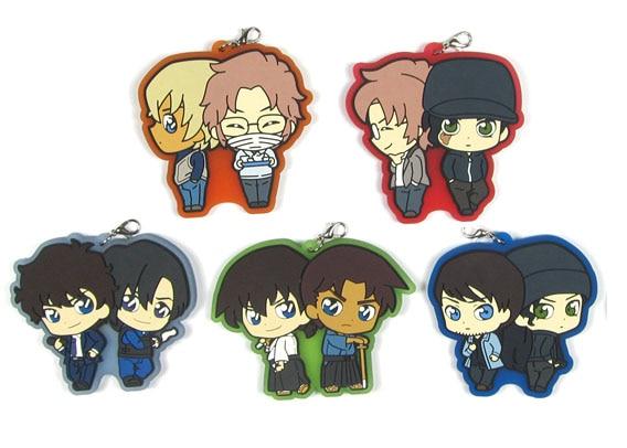 Hot Japan Anime Detective Conan Cute Kaito Kudo Rubber Strap Keychain Pendant
