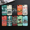 TongDa New arrival Design Bicycle race Cycling general mobilization Cell Phone Back Case For iPhone 5 5s SE 6 6s Plus
