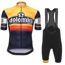 Мужские быстросохнущие летние спортивные велосипедные гоночные трико дышащие гелевые шорты набор Pro Ropa Ciclismo Maillot